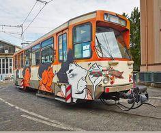 In Germany, Festival Showcases Vibrant Graffiti Art By Brazilian Artists - DesignTAXI.com
