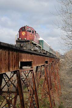 12 Amazing Sceneries of Beautiful Trains, Beautiful Historical Trip Beginning in Northwest Arkansas