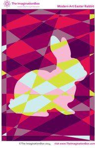 Геометрические раскраски на Пасху