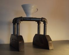 3 Cup Pour Over Coffee Stand/Station by Blackswallowespresso