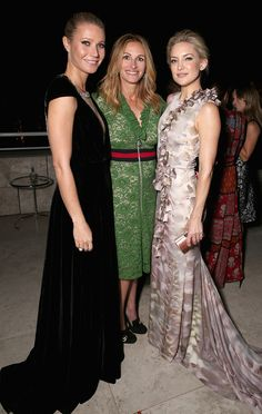 C Social Front. InStyle Awards 2015 -- Gwyneth Paltrow, Julia Roberts & Kate Hudson