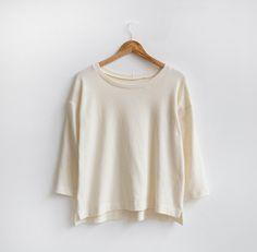 Hemlock Variation 01: Split Hem Sweater