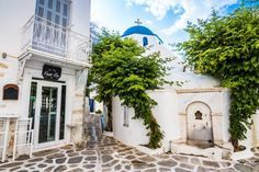 Old City, Island of Paros, Pictures of Greece