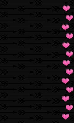 Black and pink border hearts wallpaper pink and black wallpaper, black background wallpaper, black Pink And Black Wallpaper, Android Wallpaper Black, Black Background Wallpaper, Hipster Wallpaper, Flower Phone Wallpaper, Pink Wallpaper Iphone, Heart Wallpaper, Butterfly Wallpaper, Cute Wallpaper Backgrounds