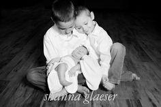 Sweet siblings with baby!