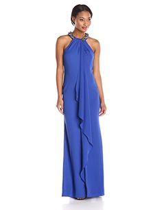 Calvin Klein Women's Halter Beaded Neck Gown, Atlantis, 1... https://www.amazon.com/dp/B017BQTJ9I/ref=cm_sw_r_pi_dp_f0WGxb781TVZ9