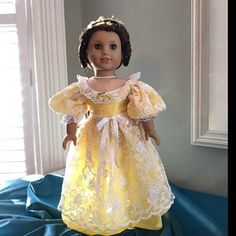PDF Pattern Chemisettes Historical Underthings for 18 inch and 16 inch dolls American Girl A Girl for All Time Doll Clothes Patterns, Clothing Patterns, Doll Patterns, Clothing Ideas, Lace Ruffle, Ruffle Dress, Regency Dress, Victorian Costume, Victoria Dress