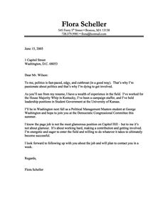 Financial Analyst Cover Letter Example  Cover Letter Example