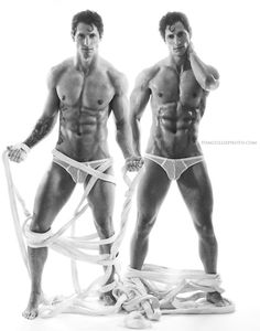 Tyler James twins by Tom Cullis