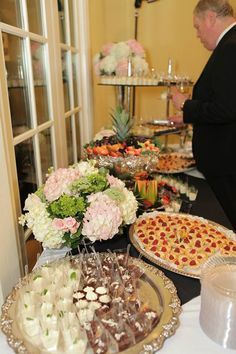 It's so hard to choose! Here's a guest who couldn't decide which fabulous dessert from ALACARTE CATERING he wanted! #food #wedding #atlantawedding #atlantacatering #foodideas #cateringideas #weddingideas #entertaining #fingerfoods #catering #atlantavenues #entertainment #partyideas #catering.....foodpresentation #ASOShowHouse