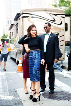 NYFW-New_York_Fashion_Week_Spring_Summer_2014-Street_Style-Say_Cheese-Collage_Vintage-Miroslava_Duma-Michael-Kors-1.jpg (790×1185)
