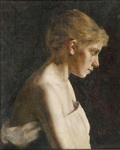 Sick girl, Maria Wiik