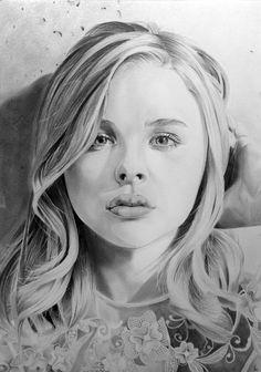 Chloe Moretz by PortraitLc