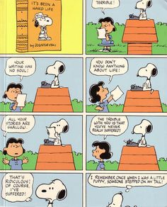 Snoopy the Author,   It was a Dark and Stormy Night........