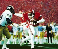 Freshman Phenom. Marcus Dupree burst onto the college football scene in 1982. Dupree was National Freshman of the Year and remains one of the greatest players in Oklahoma history. http://www.shop.47straightposters.com/Freshman-Phenom-Marcus-Dupree-MD-82.htm