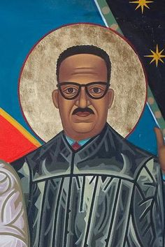 Thurgood Marshall | All Saints Company. The Dancing Saints Icons project at Saint Gregory Nyssen Episcopal Church, San Francisco is a multi-year installation project supported by All Saints Company, the congregation of Saint Gregory Nyssen Church and many donors and benefactors. The iconographer is Mark Dukes.