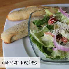 At the Pink of Perfection: CopyCat Recipes: Olive Garden Salad & Breadsticks