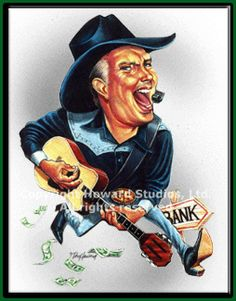 Garth Brooks by Don Howard