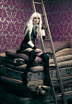 e71959b09874 Thigh High Boots Fashion Photos High Fashion Photography