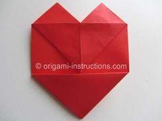 DIY Origami DIY Crafts  DIY Origami Double Hearts