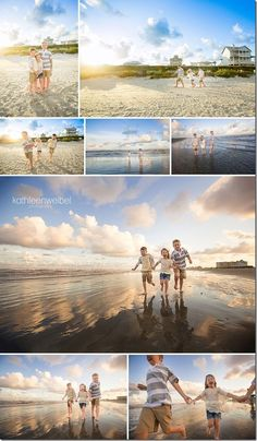 How to Get Great Family Holiday Snaps | Planning on visiting the beach and taking some family portraits? In this article Geoff Harris give his 5 top Tips for Posing Family Beach Vacation Portraits
