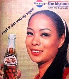 Filipino Art, Filipino Culture, Soda Bottles, Glass Bottles, Vintage Labels, Vintage Ads, Miss Universe Swimsuit, Pepsi Ad, Philippine Art