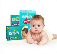 Pampers Diapering for kids