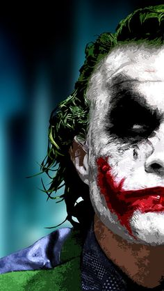 Heath Ledger as The Joker Wallpaper