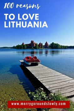 In 2018 Lithuania is celebrating 100 years of its Independence. As a birthday present I have collected 100 reasons to love this country. Backpacking Europe, Europe Travel Guide, Travel Guides, European Destination, European Travel, Places To Travel, Travel Destinations, Culture Travel, Eastern Europe