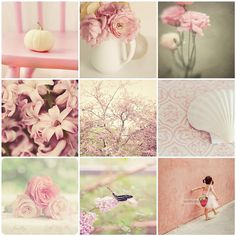 So soft and pretty. Beautiful Collage, Simply Beautiful, Dream Collage, Collages, Pot Pourri, Mood Colors, Soft And Gentle, Pretty Pastel, Colour Schemes