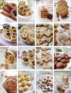 La cuisine creative: A small collection of cookies :) Wine Recipes, Gourmet Recipes, Cookie Recipes, Dessert Recipes, Kolachi Recipe, Torta Recipe, Homemade Croissants, Kolaci I Torte, Croatian Recipes