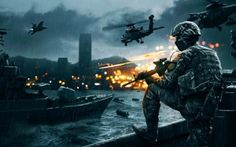 Preview wallpaper battlefield 4, game, ea digital illusions ce