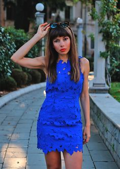 chcek my new post with my favorite cobalt blue lace dress in combination with leopardprinted sneakers: https://jointyicroissanty.blogspot.com/2016/09/sporty-or-chic.html  #fashion #sportychic #ootd #moda #lacedress