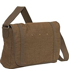 Stiglitz Messenger Bag Brown