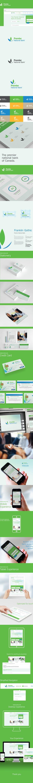 Premier National Bank Branding by Amit Jakhu, via Behance