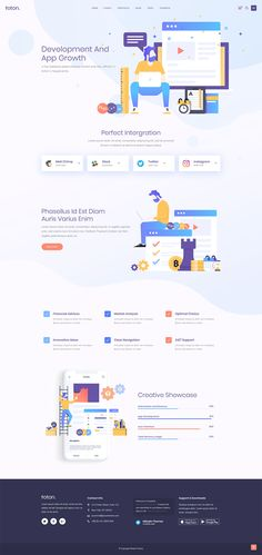 Set up a pro startup or technology website in no time with Foton WordPress theme! App Landing Page, Landing Page Design, Poster Design Software, Create Your Website, Information Architecture, Poster Design Inspiration, Ui Design, Design Ideas, App Development