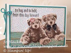 Jo-Jo's Crafty Blog: Baby Bear and other cutesies...