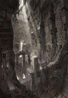 Zandalar Concept Art from World of Warcraft: Battle for Azeroth #art #artwork #videogames #gameart #conceptart #illustration #worldofwarcraft #battleforazeroth #wow #environmentdesign Landscape Background, Animation Background, Concept Art World, Environment Design, Fantasy, World Of Warcraft, Art Inspo, Game Art, Art Gallery