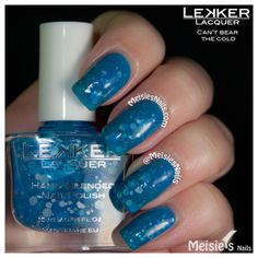 Lekker Lacquer - Holiday/Winter 2013 Collection - Can't Bear The Cold
