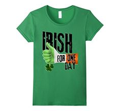 Women's Irish For One Day - Hand Flag Clover Large Grass ... https://www.amazon.com/dp/B01N7VDPT8/ref=cm_sw_r_pi_dp_x_oa6IybNTQH5G5