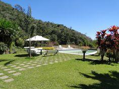chácara / sítio Teresópolis - área da piscina