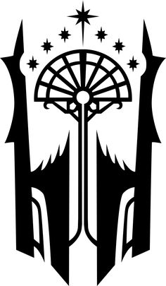 The Black Gate Sigil from Shadow of Mordor  (I made it myself because apparently no one else has done it yet)