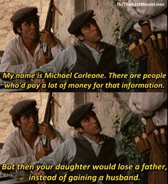 - Al Pacino in The Godfather (1972)