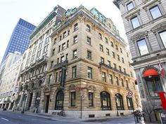 Condo for sale in Ville-Marie (Montréal) - $925,000 +GST/QST Condos For Sale, Apartments For Sale, Old Montreal, Multi Story Building, Street View, Nice, Beautiful, Nice France