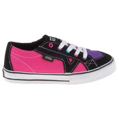 Vans Girls' Tory Vulcanized Athletic Lifestyle Shoes