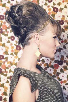 fc86c99db483 Collection GOLDEN CROWN par Fleur de Peau, bijoux et headband bohèmes.  Photo  Vincent