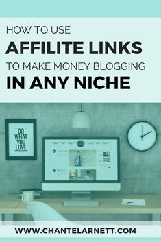 How to Make Money with Affiliate Links in Any Blog Niche #linkedinmarketing