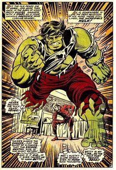 Cavalcade of Comic Book Images Comic Book Pages, Comic Books Art, Comic Art, First Hulk, Hulk Movie, 1970s Tv Shows, Hulk Avengers, Hulk Smash, Incredible Hulk