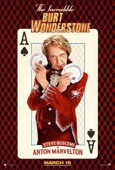 The Incredible Burt Wonderstone Movie Poster #3 - Internet Movie Poster Awards Gallery