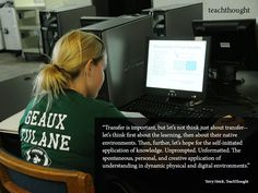 Using 'Self-Initiated Transfer' To Drive 21st Century Assessment